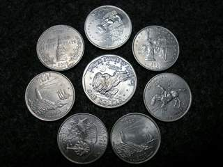 Eight US Coins