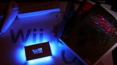 Nintendo Wii Console Zelda Twilight Princess